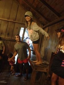 California road trip, nomads with a purpose, mystery spot Santa Cruz
