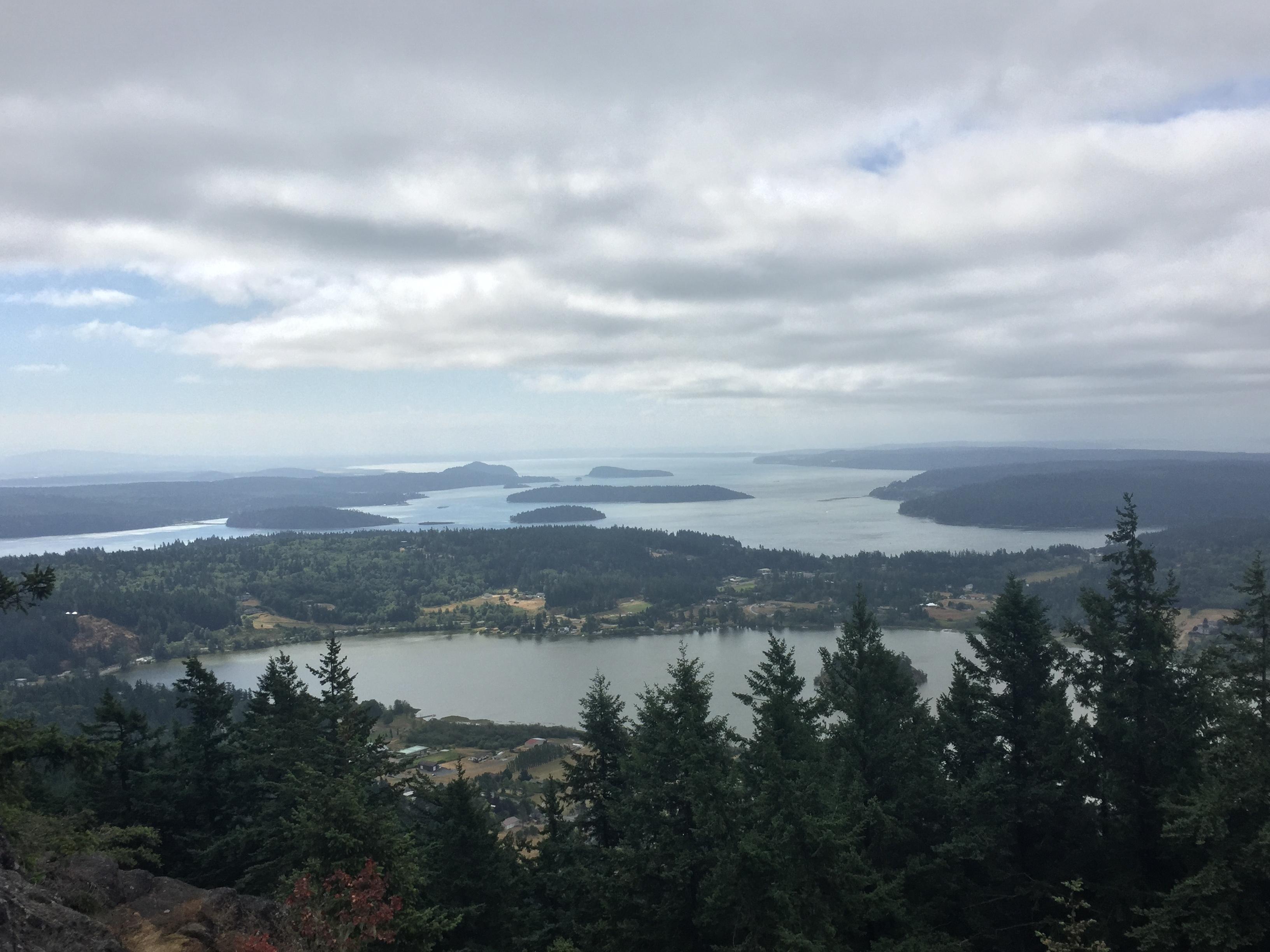 San Juan Islands in Washington