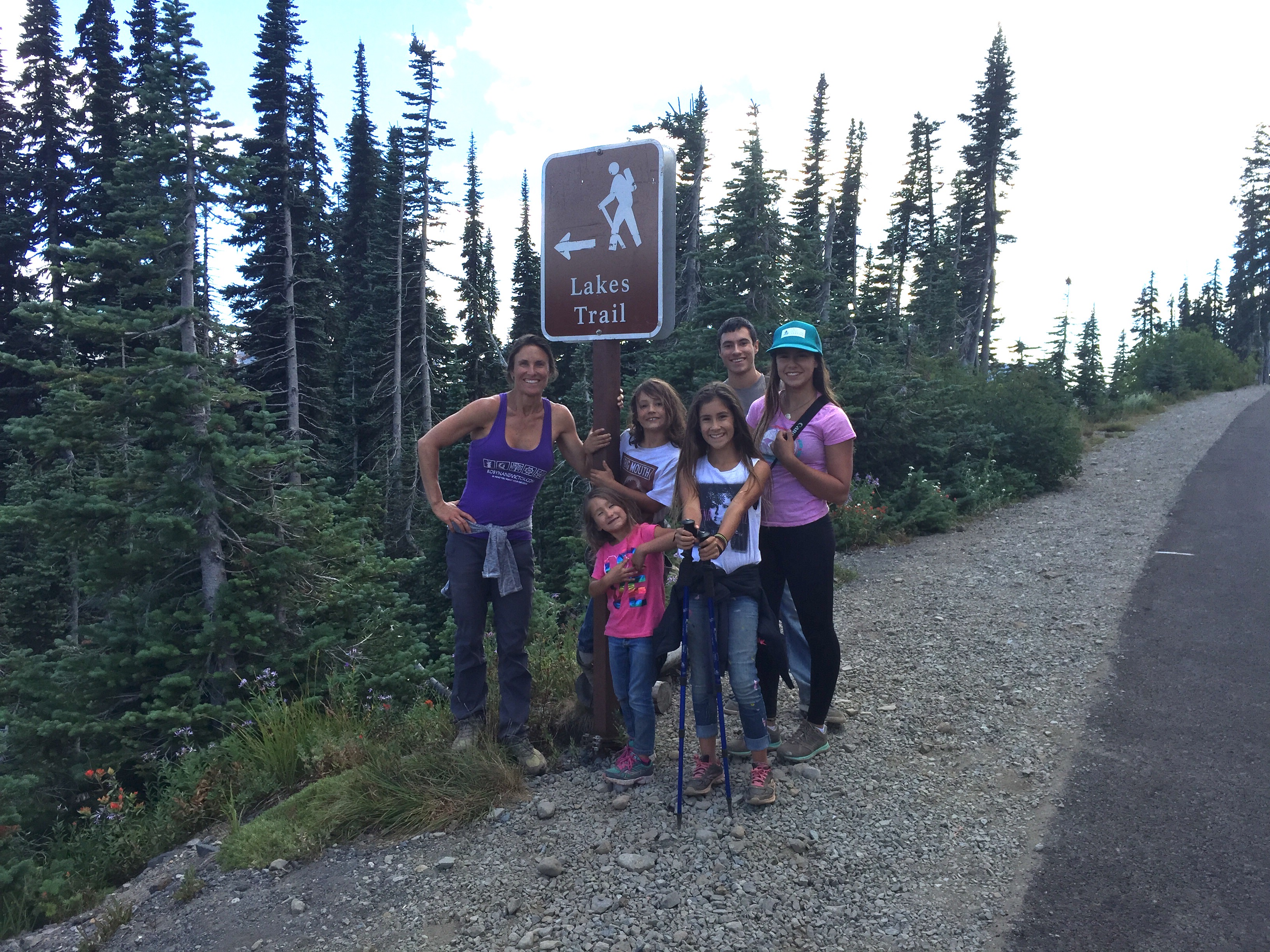 Hiking Mount Rainier National Park Washington