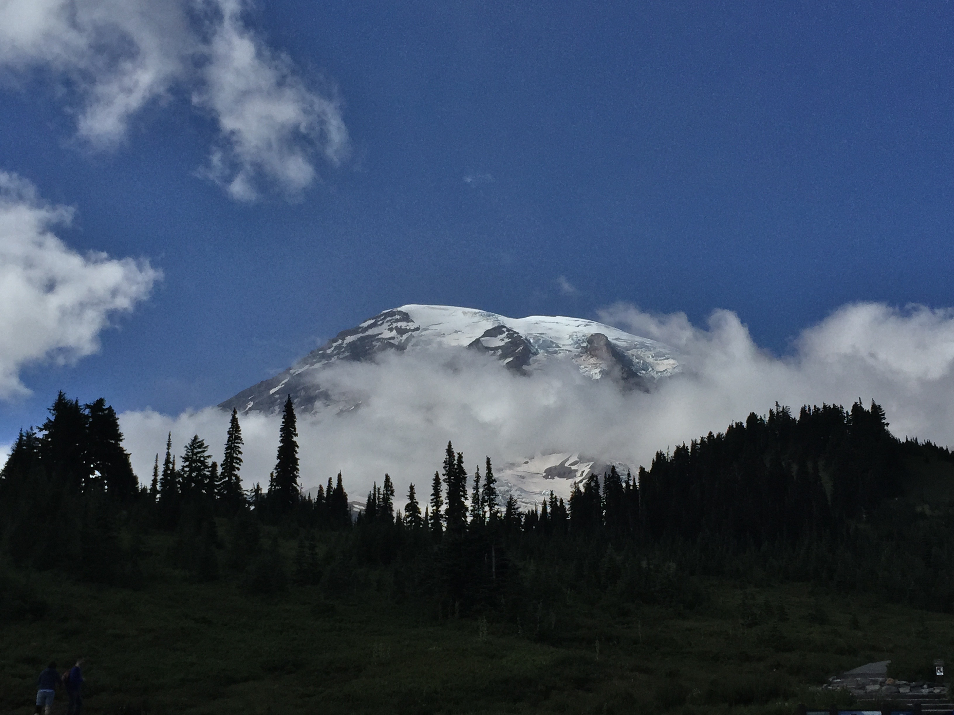 Mount Rainier at Mount Rainier National Park in Washington