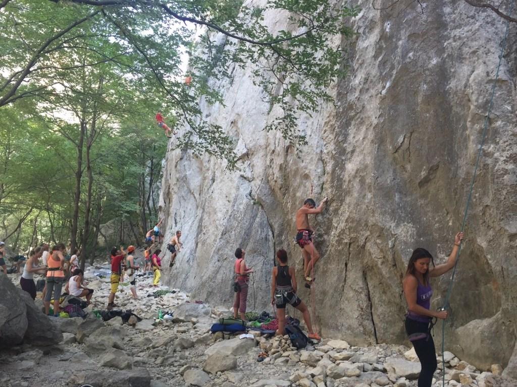 Rock Climbing Paklenica National Park: Best Sport Climbing Destinations To Take Your Kids