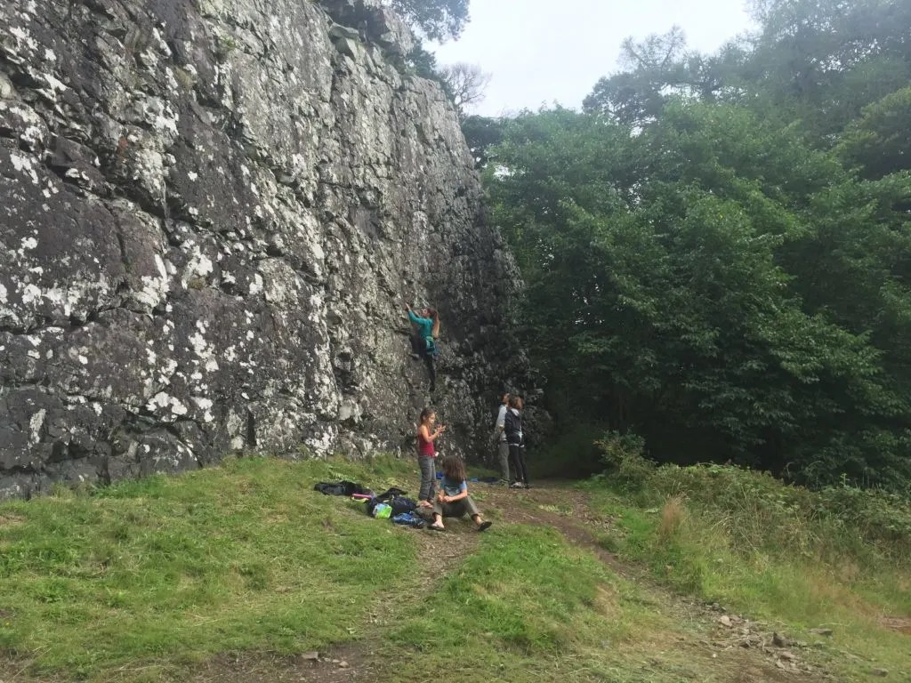 Rock Climbing Benny Beg, Scotland: Best Sport Climbing Destinations To Take Your Kids