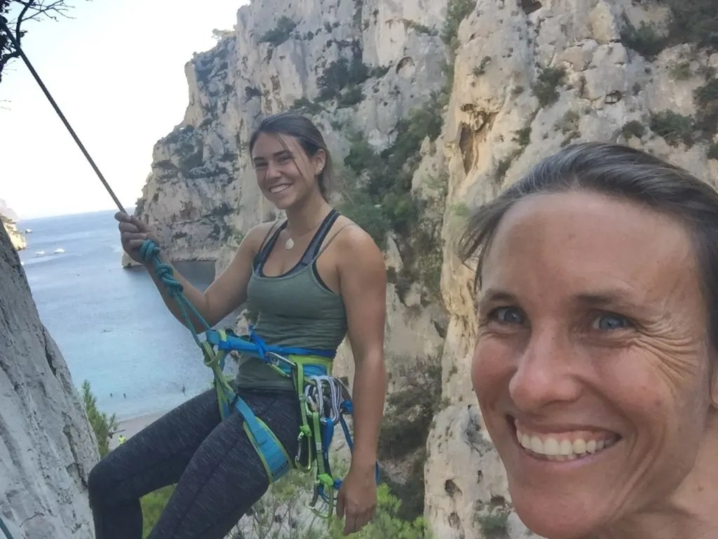 Climbing in the Calanques