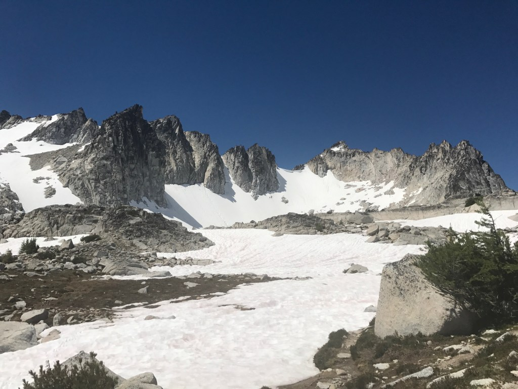 hiking the enchantments on our summer adventure road trip