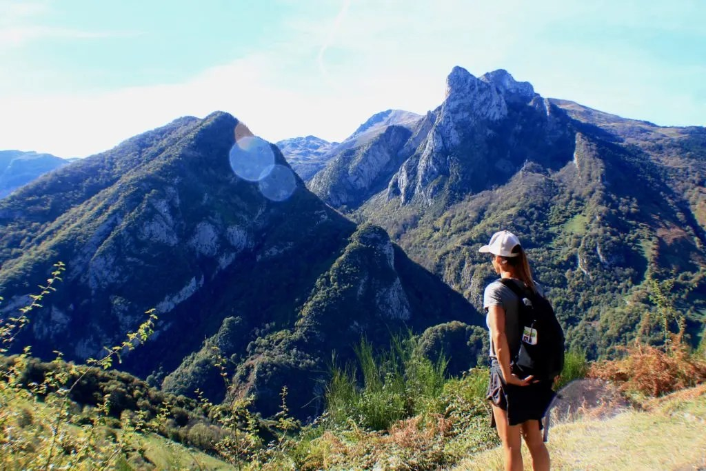 hiking the French Pyrenees Chemin de la Mature