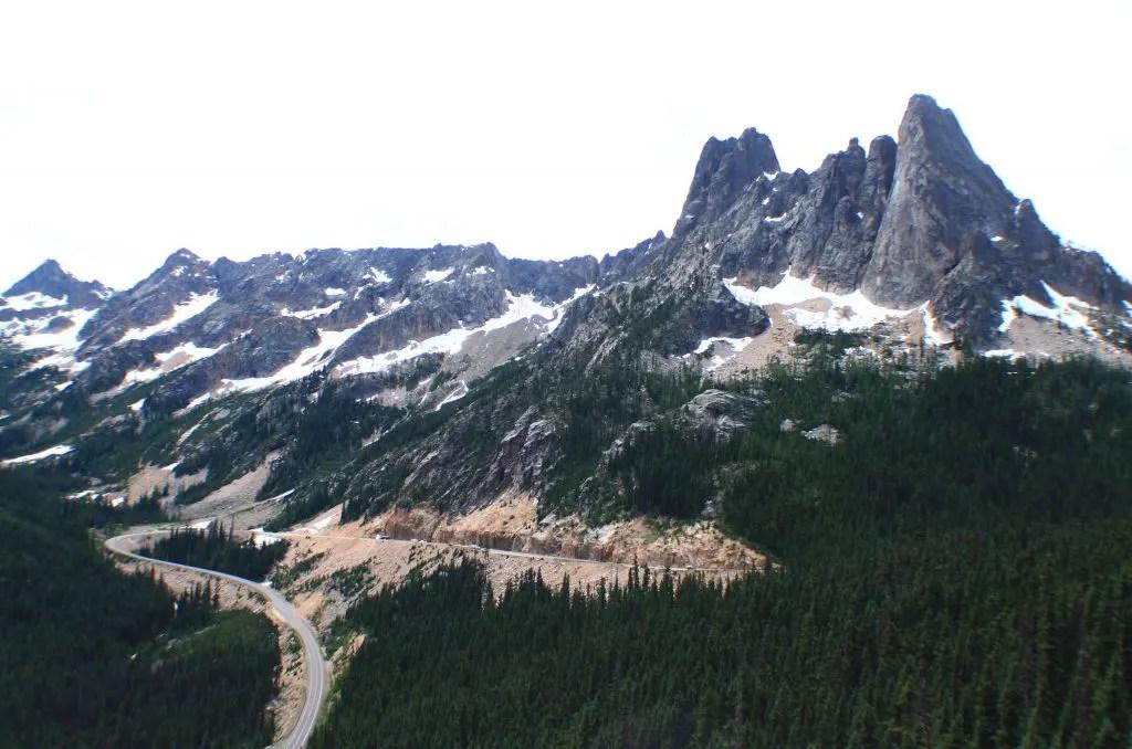 Washington pass, US and Canada road trip