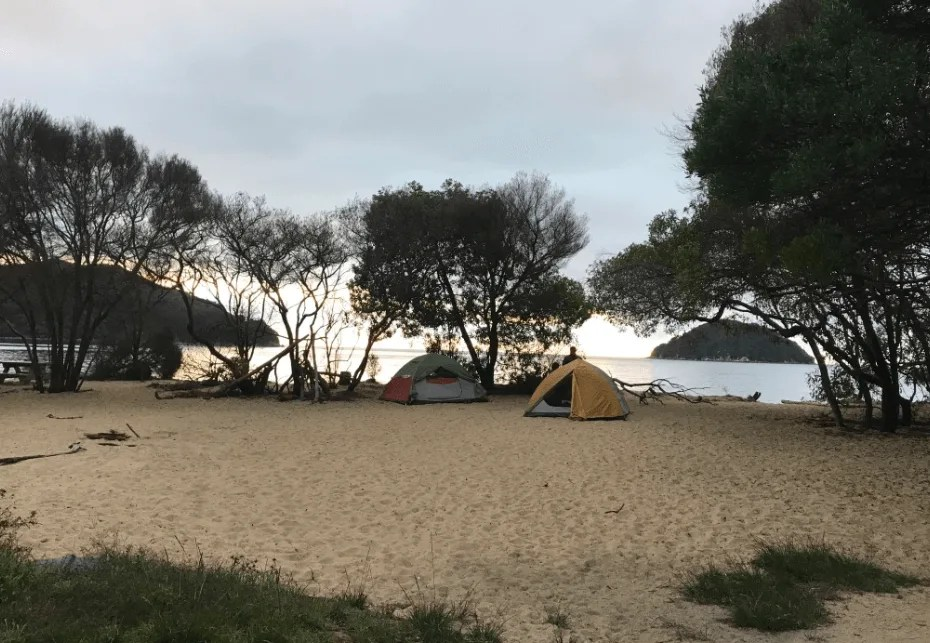 Onetahuti Beach, How to backpack Abel Tasman: 3-4 day Abel Tasman Backpacking Itinerary