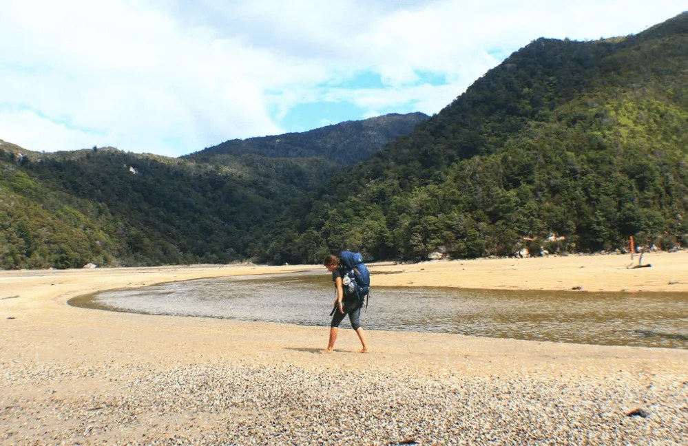 Anchorage Estaury crossing, How to backpack Abel Tasman: 3-4 day Abel Tasman Backpacking Itinerary