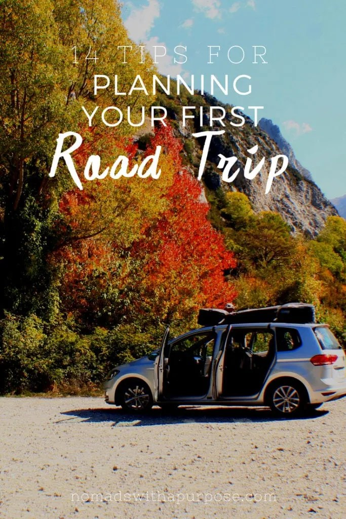 14 Tips for Planning Your First Road Trip