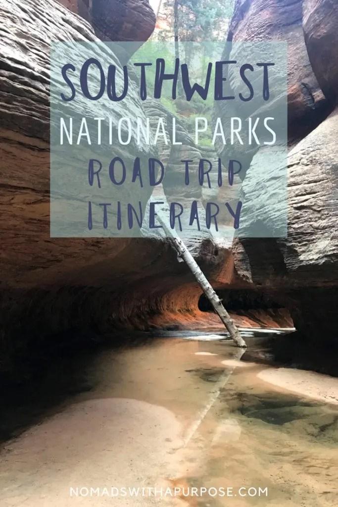 Southwest National Parks Road Trip Itinerary: Utah & Arizona