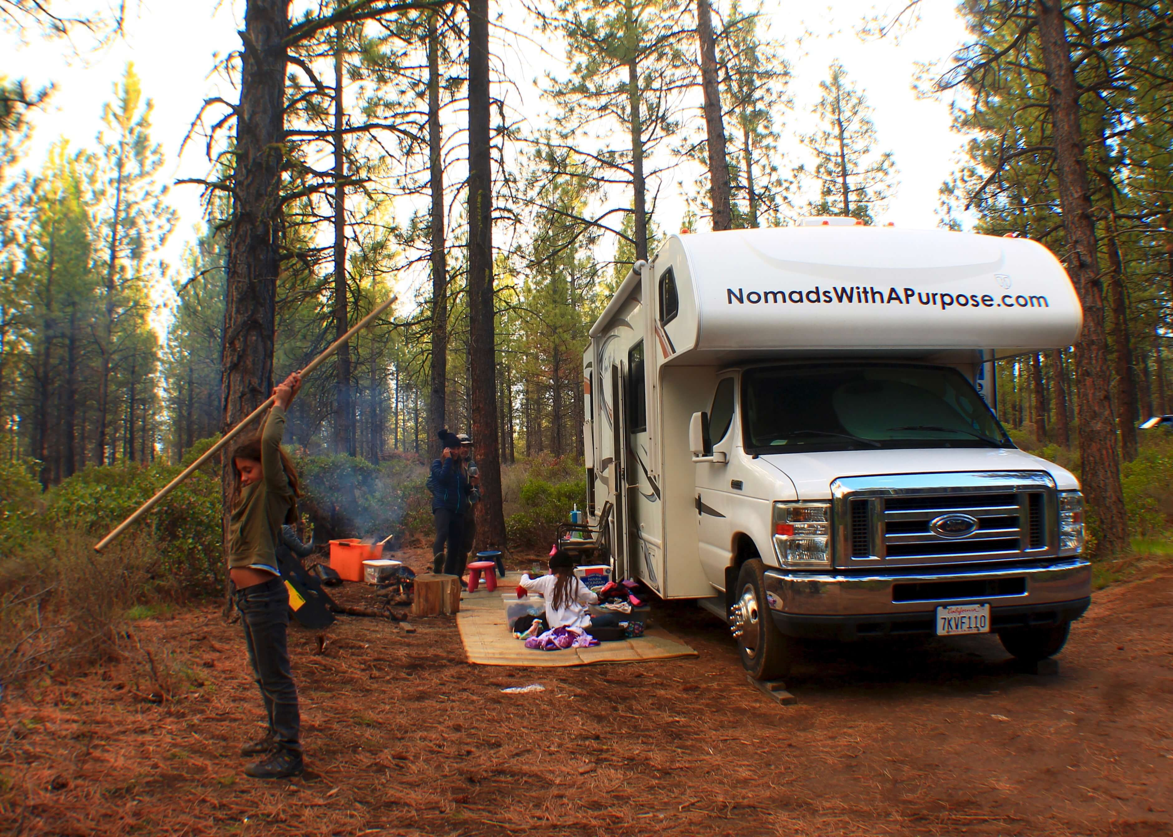 RV camping, How to Plan a successful Road Trip