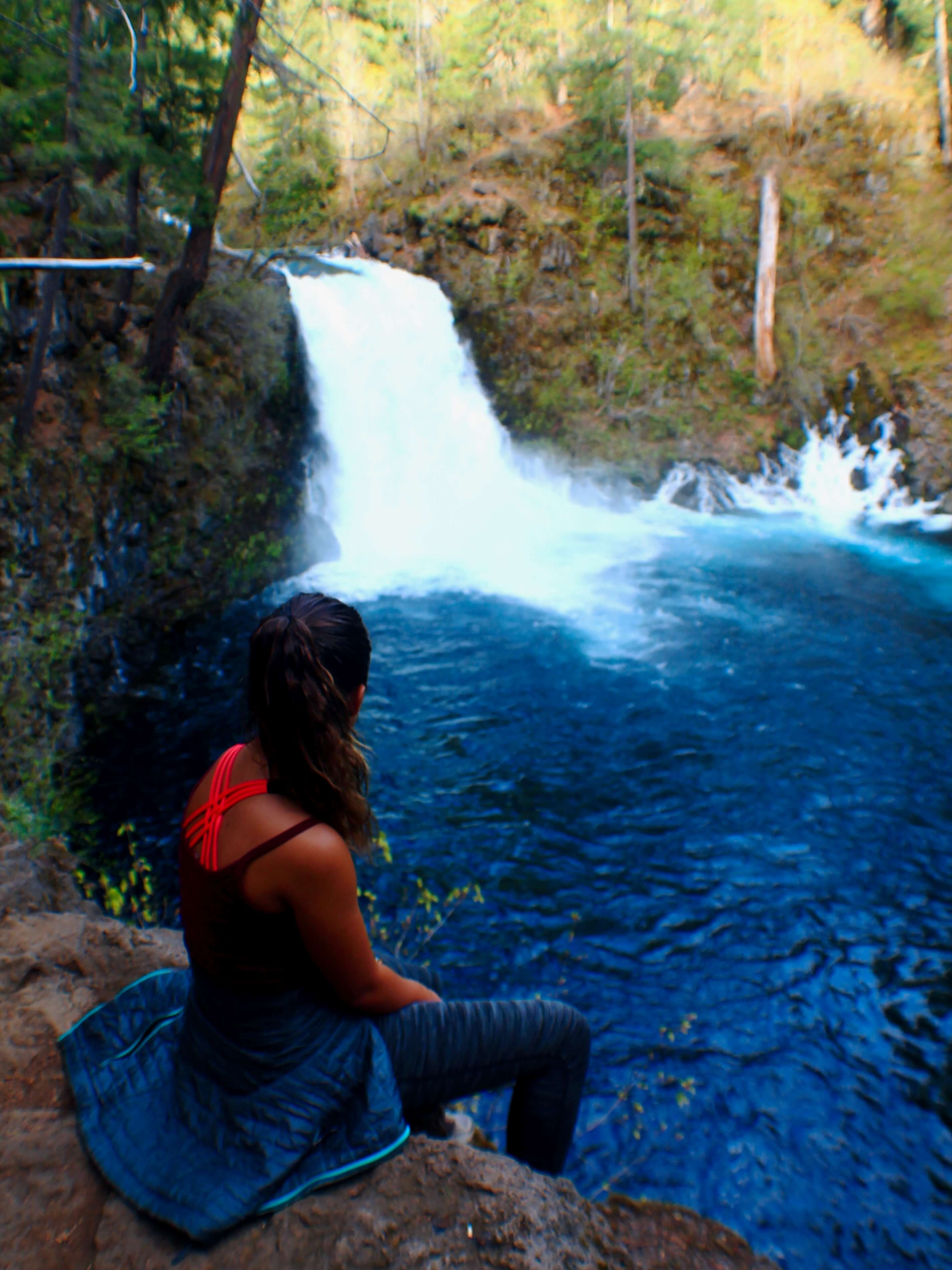 Isabelle at Tamolicth Falls, How to Plan a successful Road Trip