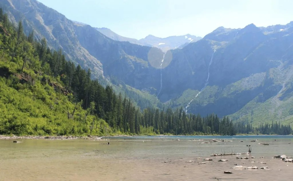 Avalanche Lake, Glacier National Park, Montana, best hikes for young kids
