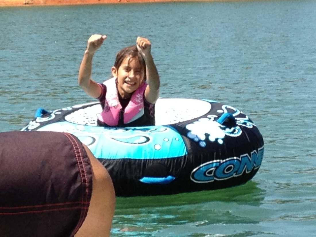 boating at the bay