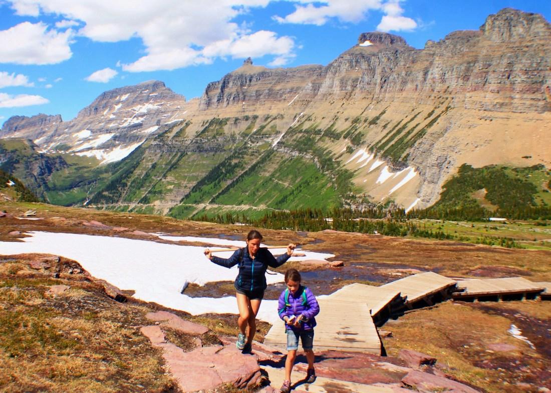 Hidden Lake Overlook, Best Hikes in Glacier National Park, Easy