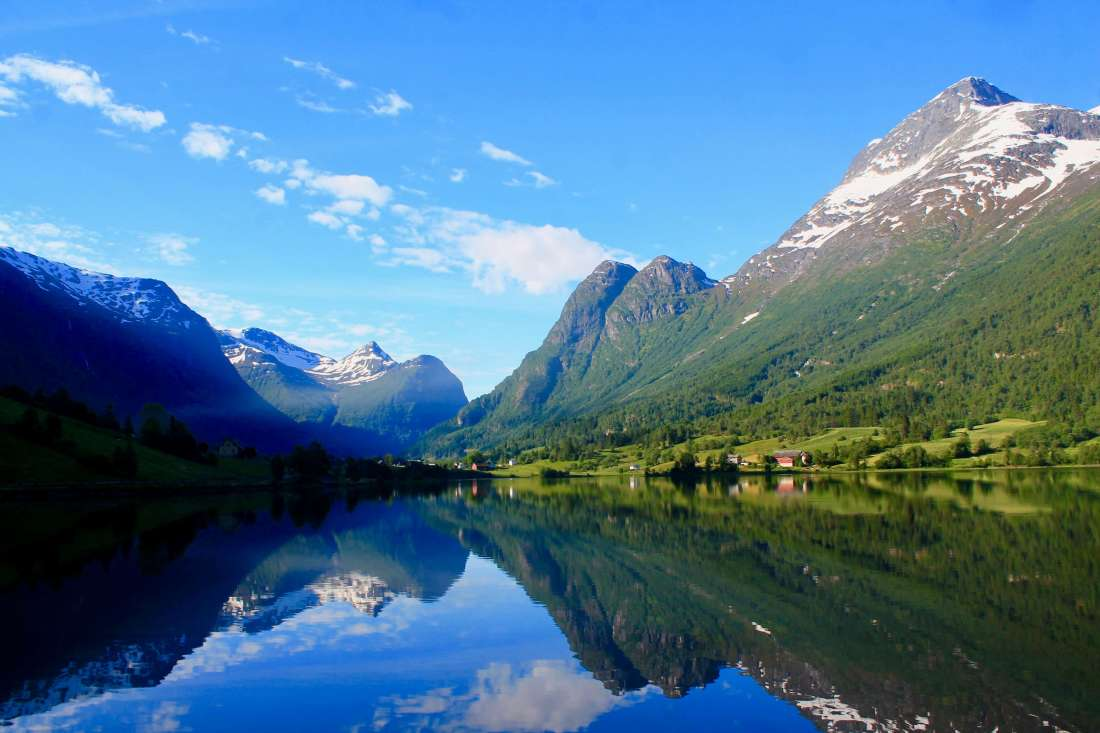 Brikstedalsbreen in Jostedalsbreen National Park, Best Hikes to Epic Glaciers Around the World