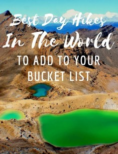 best day hikes in the world to add to your bucket list