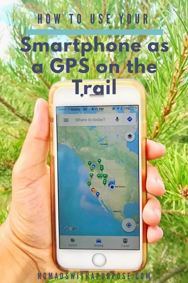 How To Use Your Smartphone As A GPS On The Trail Using Google Maps - Google maps trails