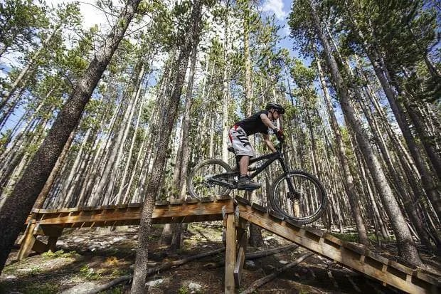 Barney Flow or B-Line, Best Mountain Biking in Breckenridge