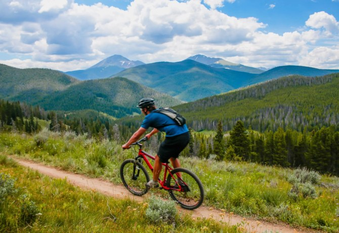 Colorado Trail section 6, Best Mountain Biking in Breckenridge