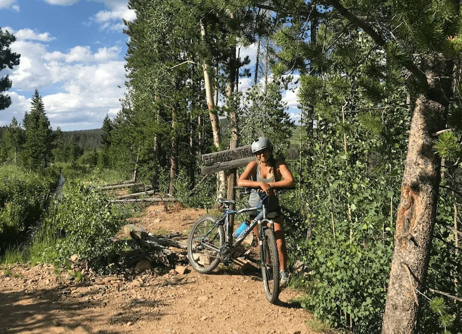 Peaks Trail, Best Mountain Biking in Breckenridge