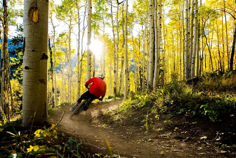 Aspen Alley, Best Mountain Biking in Breckenridge