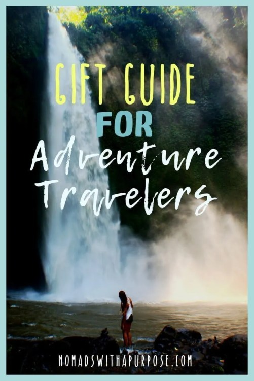 gift guide for adventure travelers & outdoor lovers