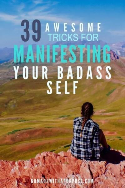 tricks for manifesting your badass self