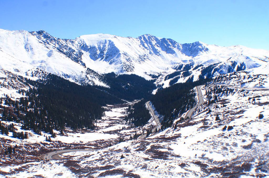 The top of Loveland Pass, Things to Do in Silverthorne