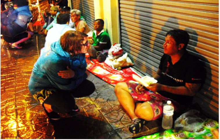 homeless outreach 2014