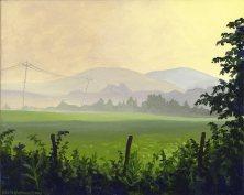 Morning Layers Over Fence & Field Nimrod, Virginia