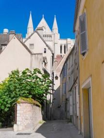 Cathedral from Rue Poissonnerie