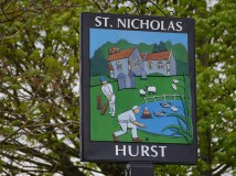 New village sign
