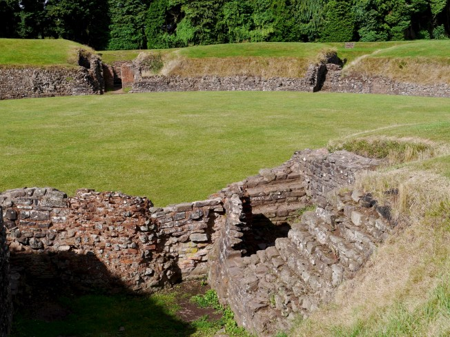 Isca (Carleon) amphitheatre