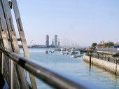 From the catamaran