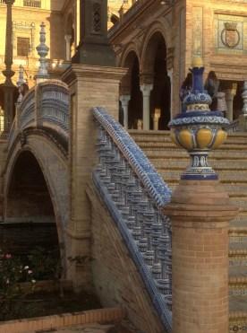 Tiled bridge