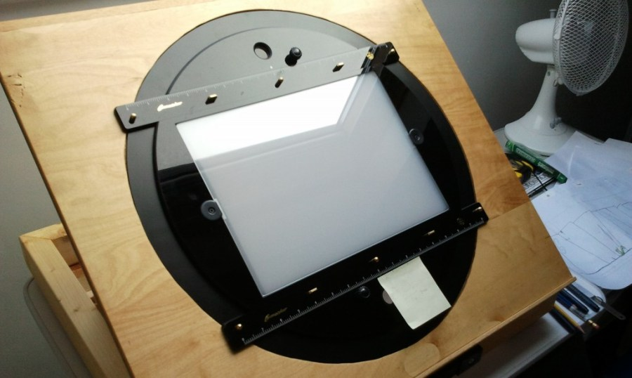 Traditional lightbox