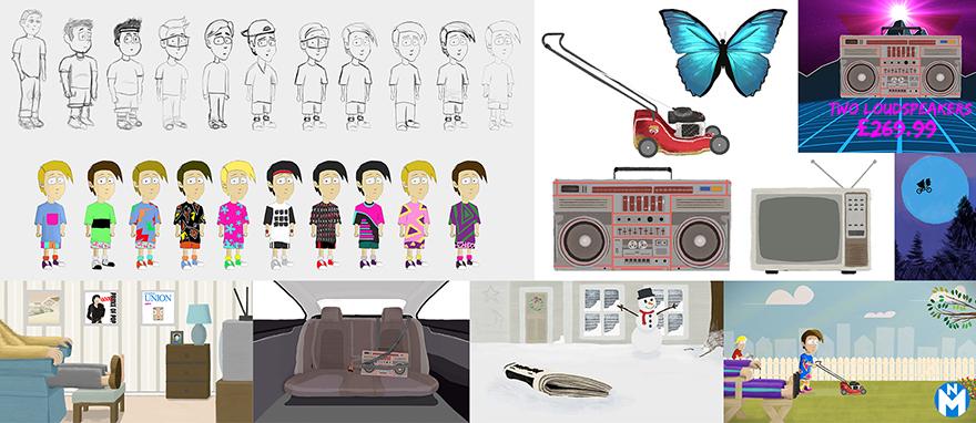Character design & graphics