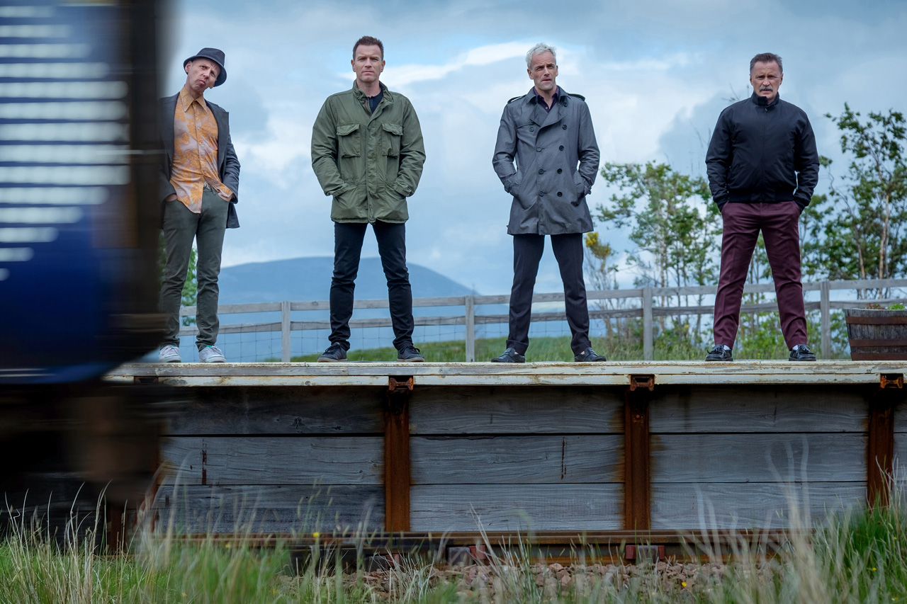 Image result for t2 trainspotting scene