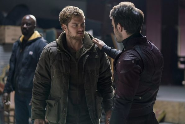 Justice League Iron Fist and Daredevil