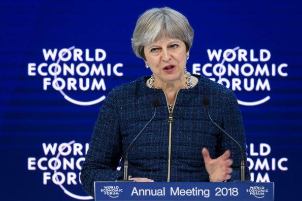 Theresa May Davos Speech