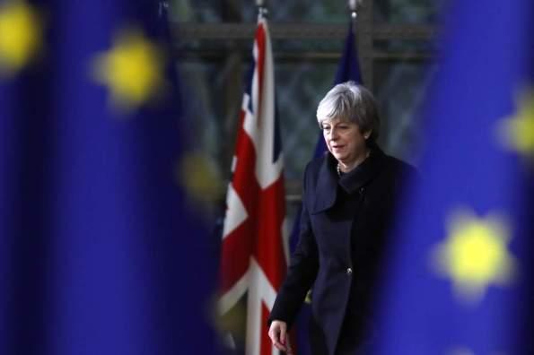 Theresa May EU Leaders
