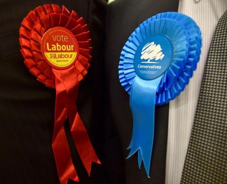Where do political parties get their names
