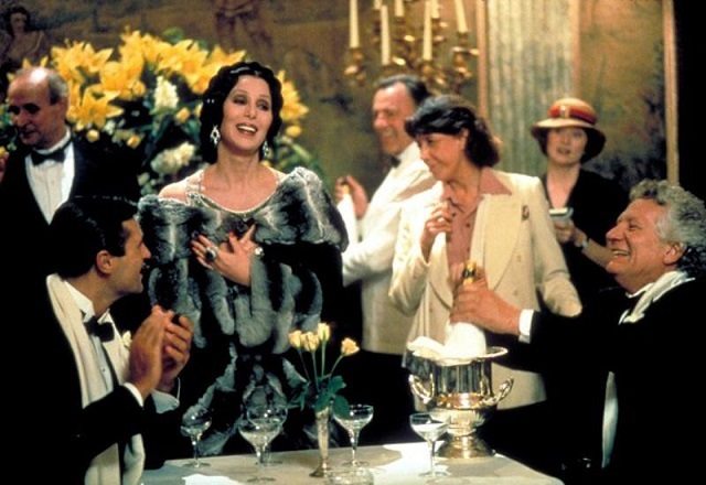 Cher in Tea with Mussolini