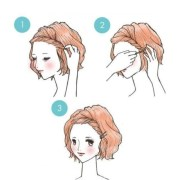 kawaii popular japanese hairstyles