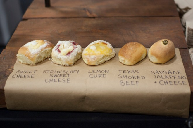 Savory and Sweet Kolaches @ Brooklyn Kolache
