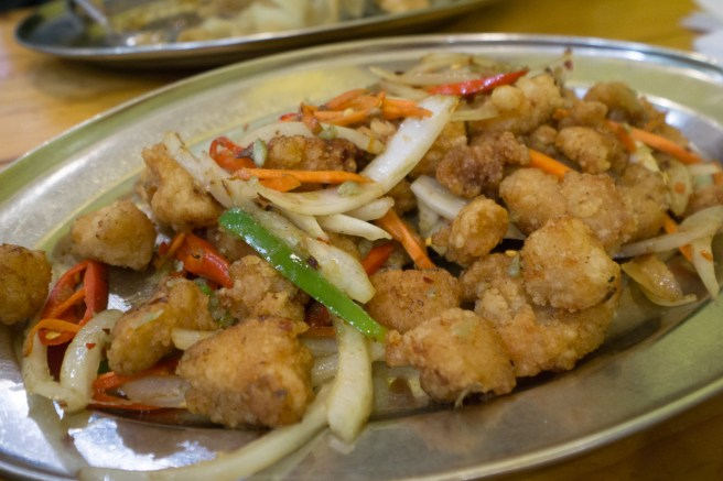 fried chicken - Lanzhou Noodle Bar