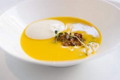 Pumpkin Soup - The Modern