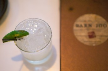 serrano pepper margarita - Barn Joo