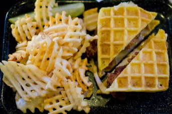 Chicken and Waffles - The Pullman Kitchen